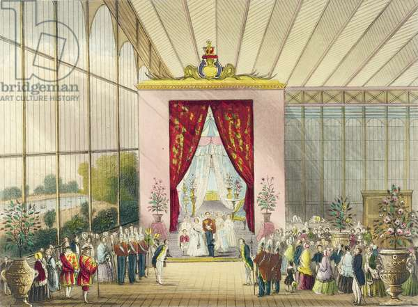 Great Exhibition, 1851: Her Majesty's Boudoir, by Chevanne, pub. by Read & Co.