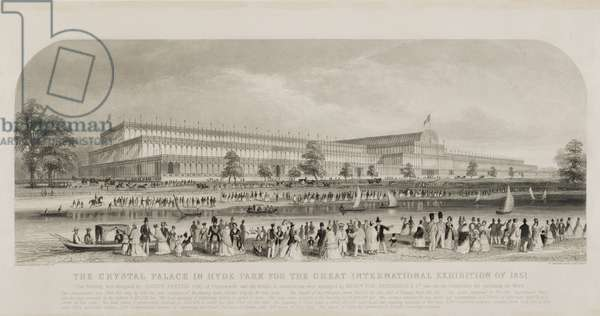 The Crystal Palace in Hyde Park for the Great International Exhibition of 1851, pub. by Read and Co. (engraving)
