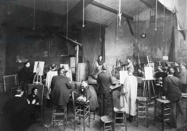 Studio of the Paris Academy of the Arts