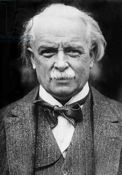 David Lloyd George, 1929 (b/w photo)