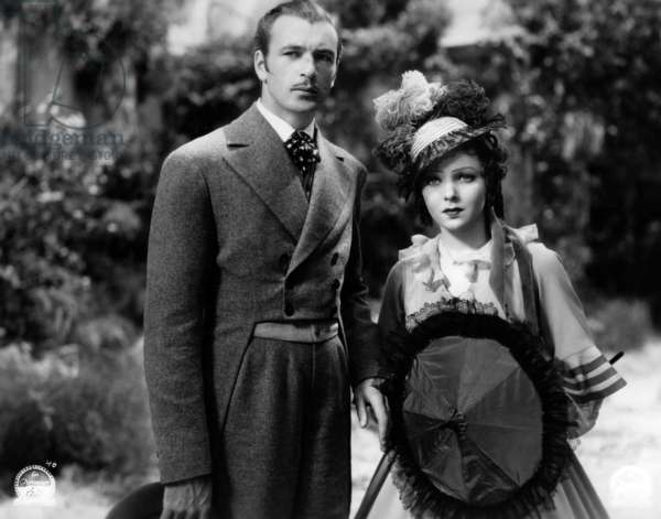 Gary Cooper and Ida Lupino in the movie Peter Ibbetson, 1935 (b/w photo)