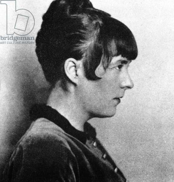 Katherine Mansfield (b/w photo)