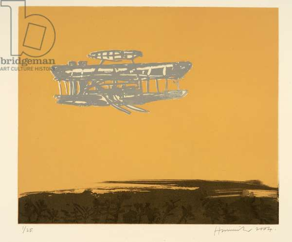 Flyer 3, 2004 (etching & aquatint)