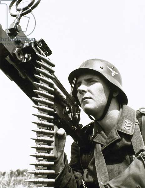 Second World War. German soldier.