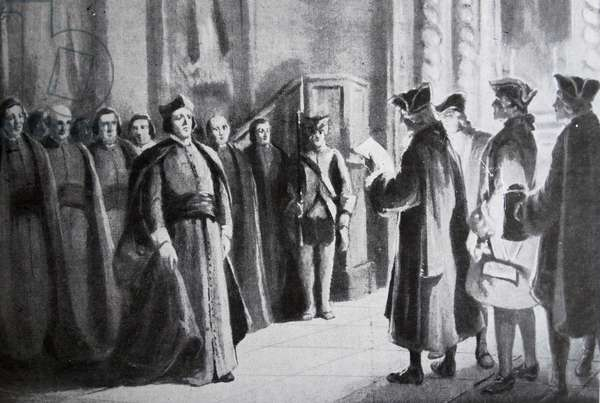 The expulsion and suppression of the Jesuits in the Spanish Empire in 1767