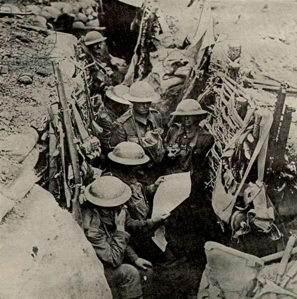 Troops on Western Front