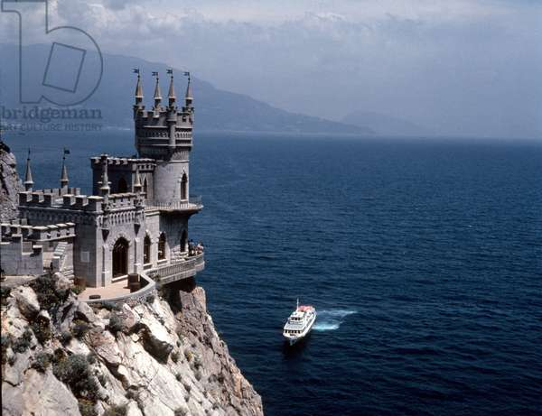 Swallow'S Nest, Yalta, Crimea, Ukraine, Former Summer Residence of the Russian Royal Family the Romanovs.