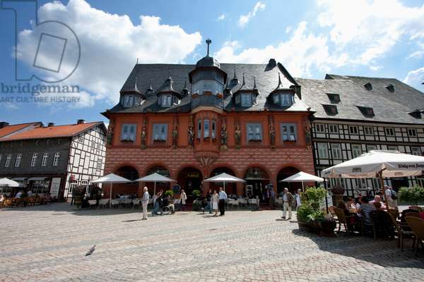 Hotel Kaiserworth, Located in the Former Guild House on the Market Place, Goslar, Germany (photo)