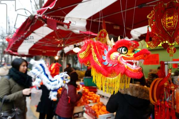 Chinese New Year, Decorations, Dragon (photo)