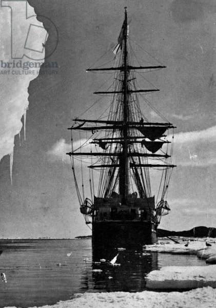 Captain Robert Falcon Scott's ship used during an Expedition