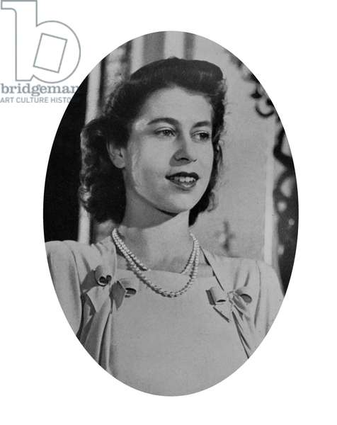 Photographic portrait of Queen Elizabeth II