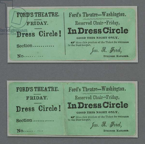 Theatre tickets to