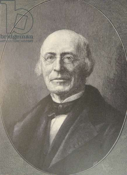 William Lloyd Garrison (1865-1879) American abolitionist.