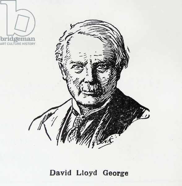 David Lloyd George; British Liberal politician and statesman.