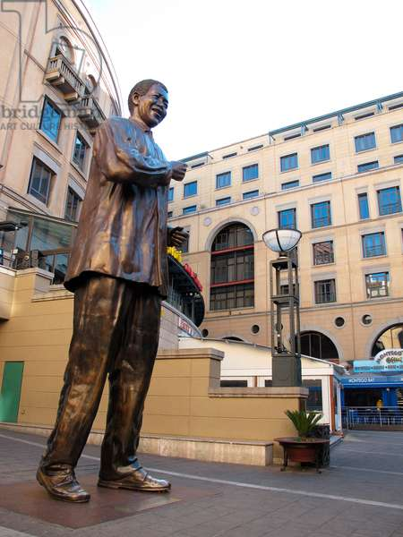 Statue of Nelson Mandela (photo)