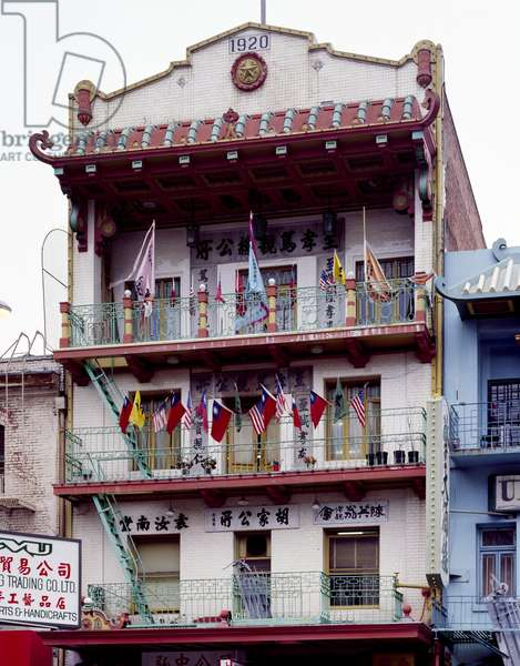 Historic Building in Chinatown (photo)