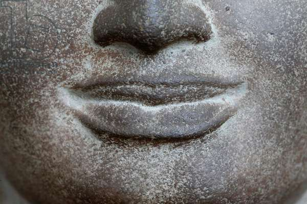 Face of the Buddha (photo)