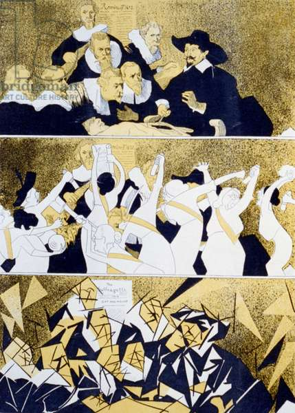 Accidental cubists, 1914
