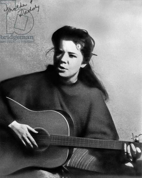 A photo from the Joplin family album: Janis Joplin, 1960