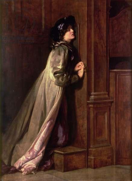 The Sinner, 1904 (oil on canvas)