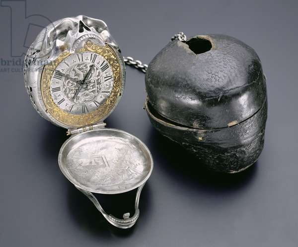 Skull watch, known as the 'Mary Queen of Scots Skull Watch', made by Moysant, Blois, 18th century (see also 122182)