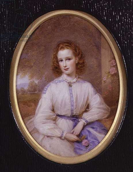 Hon. Lucy Byng (miniature)