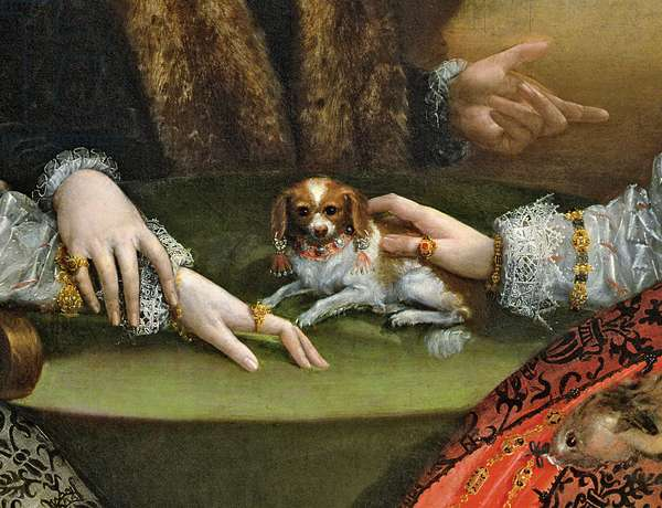 The Gozzadini Family (oil on canvas) (detail of 253911)
