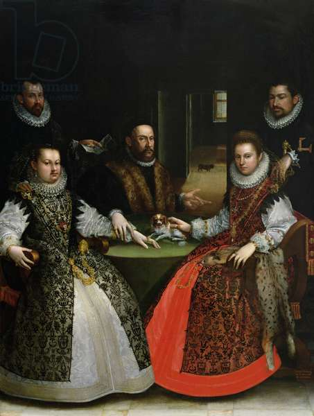 The Gozzadini Family (oil on canvas)