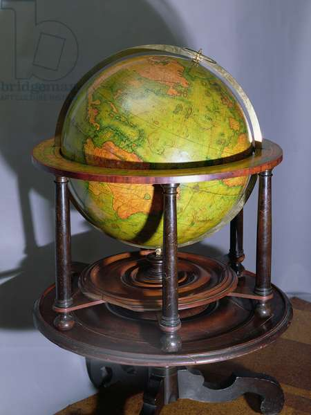 Molyneux Globe (wood)