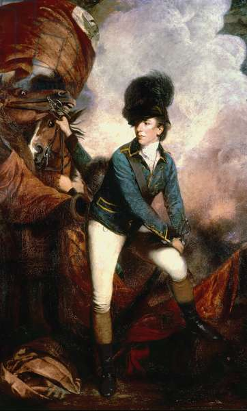 Colonel Banastre Tarleton (1754-1833) 1782 (oil on canvas)