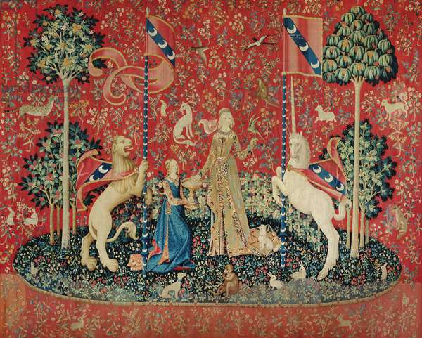 The Lady and the Unicorn: 'Taste' (tapestry)