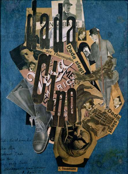 Dada-Cino, 1920 (collage)