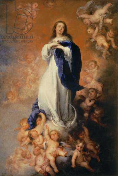 The Immaculate Conception of Los Venerables, or of `Soult', c.1678 (oil on canvas)