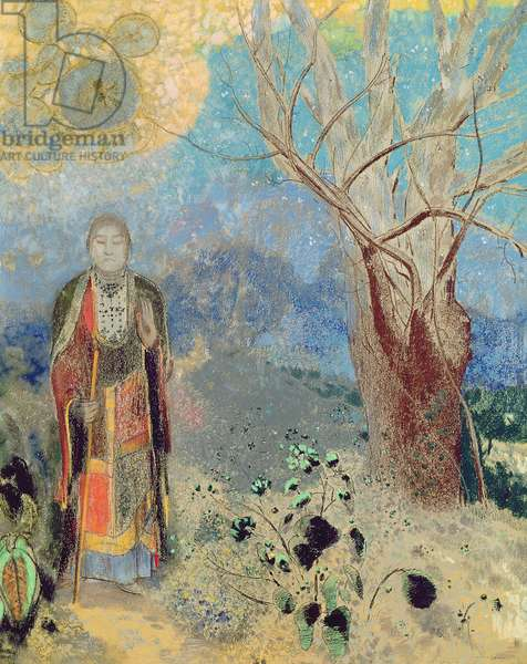 The Buddha, c.1905 (pastel on paper)