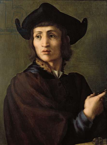 Portrait of a Goldsmith (oil on panel)