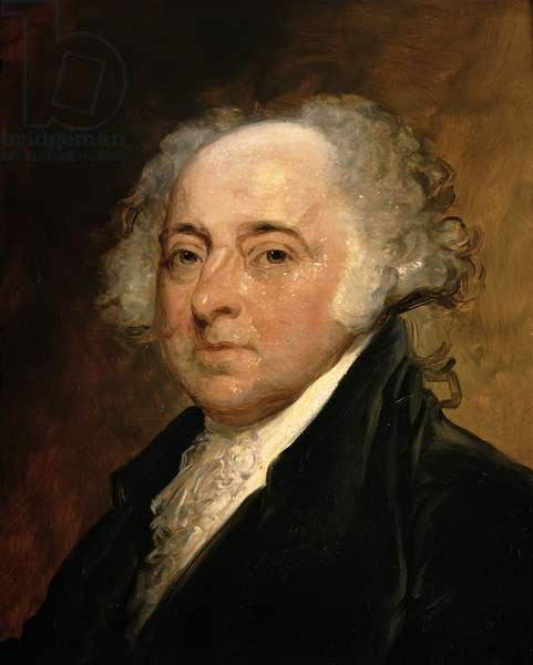 Portrait of John Adams (oil on canvas)
