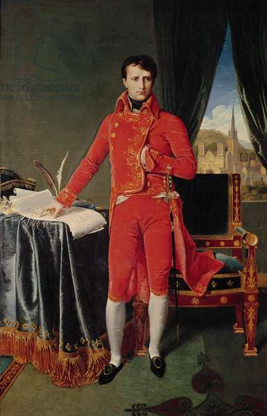 Bonaparte as First Consul, 1804 (oil on canvas)