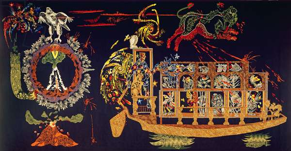 La Grande Menace, from 'Le Chant du Monde', 1957 (tapestry)