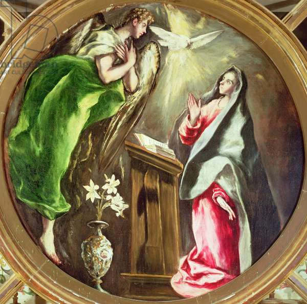 The Annunciation, 1597-1603 (oil on canvas)