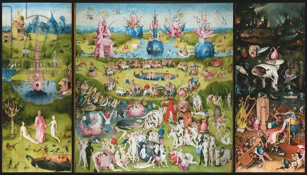 The Garden of Earthly Delights, c.1500 (oil on panel)