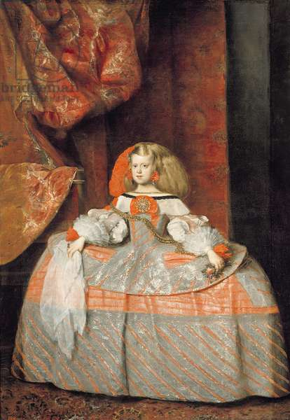 The Infanta Margarita of Austria, c.1665 (oil on canvas)