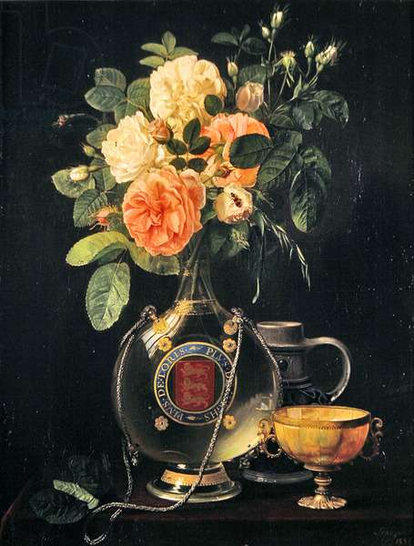 Red or White Roses or More Tories or More Whigs, 1826 (oil on canvas)