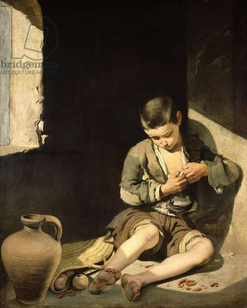 The Young Beggar, c.1650 (oil on canvas)