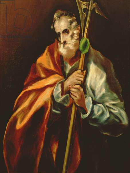 St. Jude Thaddeus, 1606 (oil on canvas)