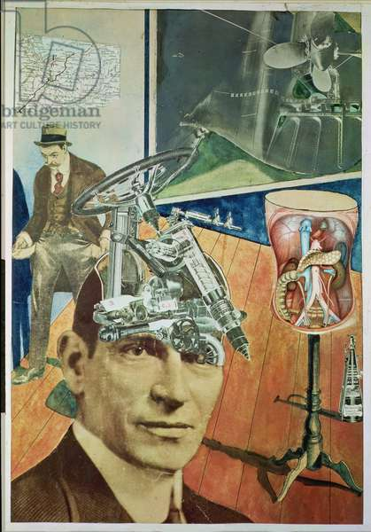 Tatlin at Home, 1920 (collage)