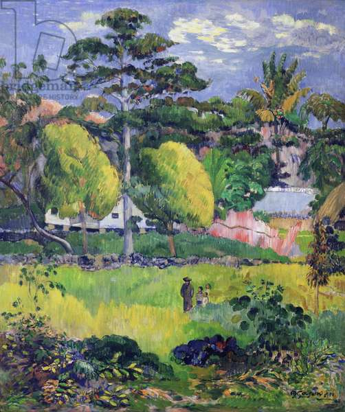 Landscape, 1901 (oil on canvas)