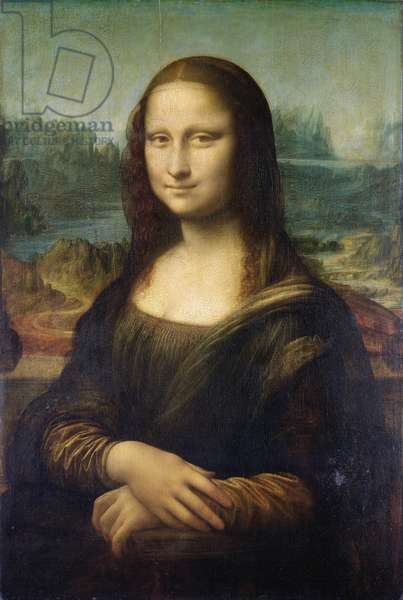 Mona Lisa, c.1503-6 (oil on panel)
