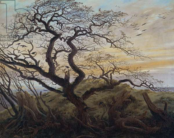 The Tree of Crows, 1822 (oil on canvas)