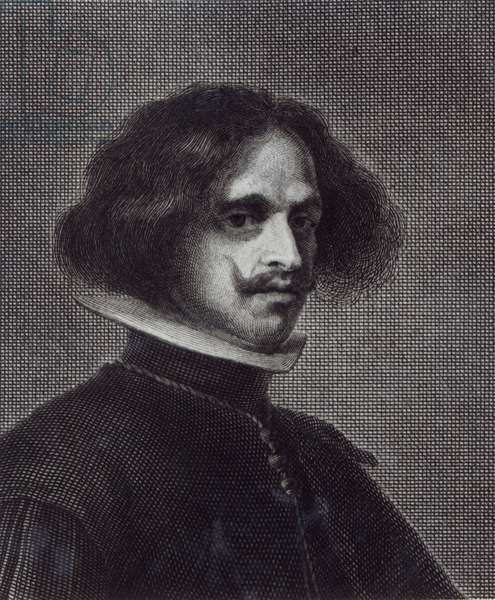 Self Portrait (engraving) (b/w photo)
