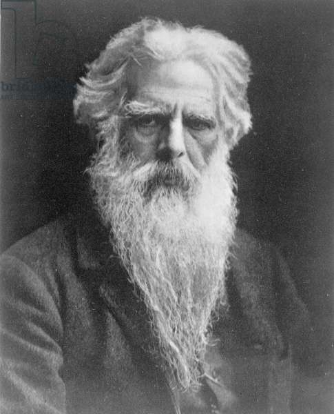 Eadweard Muybridge, 1890 (b/w photo)